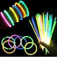 (iSmile) サイリウム ルミカ 蛍光 ケミカルライト パキッと折るだけ イベント ライブ に大活躍 5色 50本セット