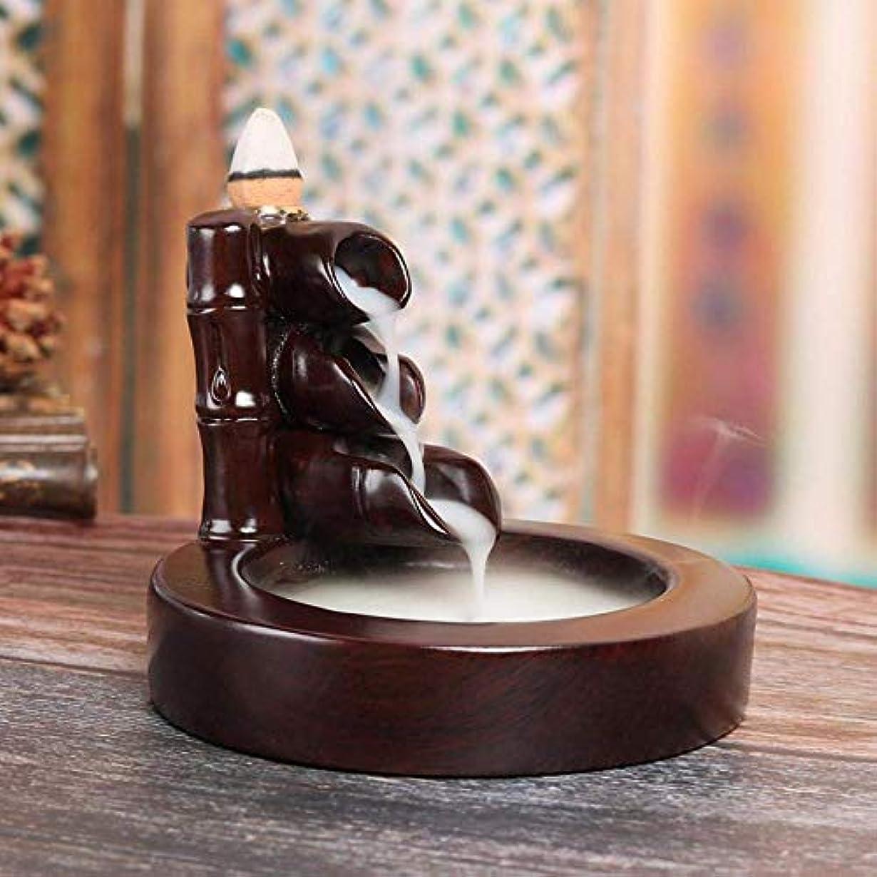 振るうウナギ現代の逆流香バーナーホルダー、香コーンバーナーホームデコレーション手芸ギフト