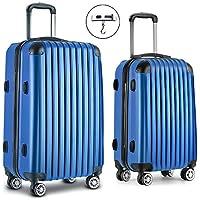 Wanderlite Luggage Suitcase Set with Mulit-Colour