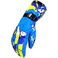 KINDOYO 防寒手袋 グローブ スキーグローブ バイク 自転車用 防水 防風 滑り止め付 シンサレート 断熱素材 男女兼用 冬 アウトドア