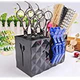 Professional Salon Scissors Holder Rack, Shear Holder,Modern Hairdressing Combs Clips Desktop Desk Organizer Accessories for