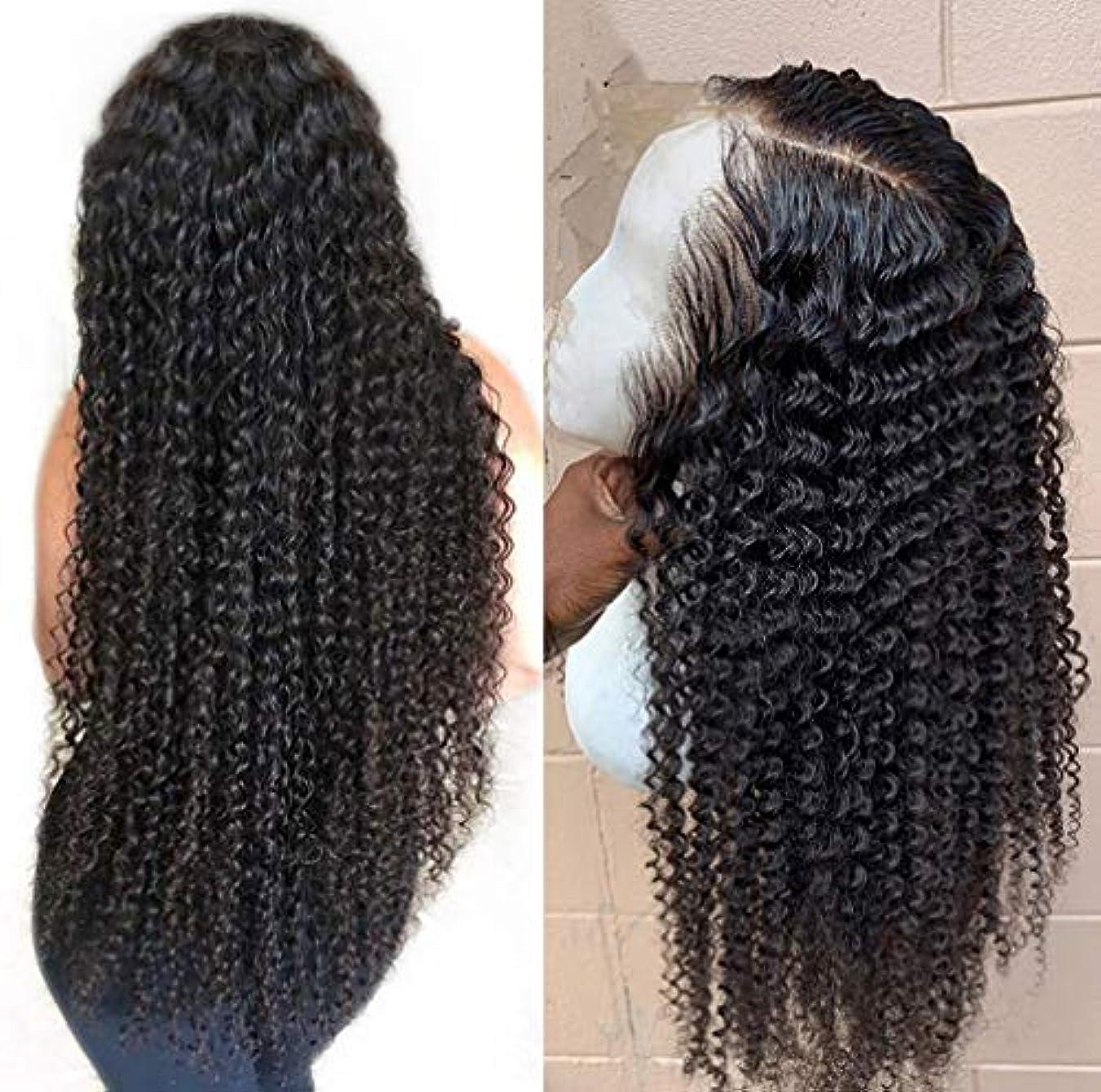 のみひねくれた蒸留女性13 * 6レースフロントかつらブラジル人間の髪水波ペルーバージン人間の髪調節可能なかつらベビーヘア