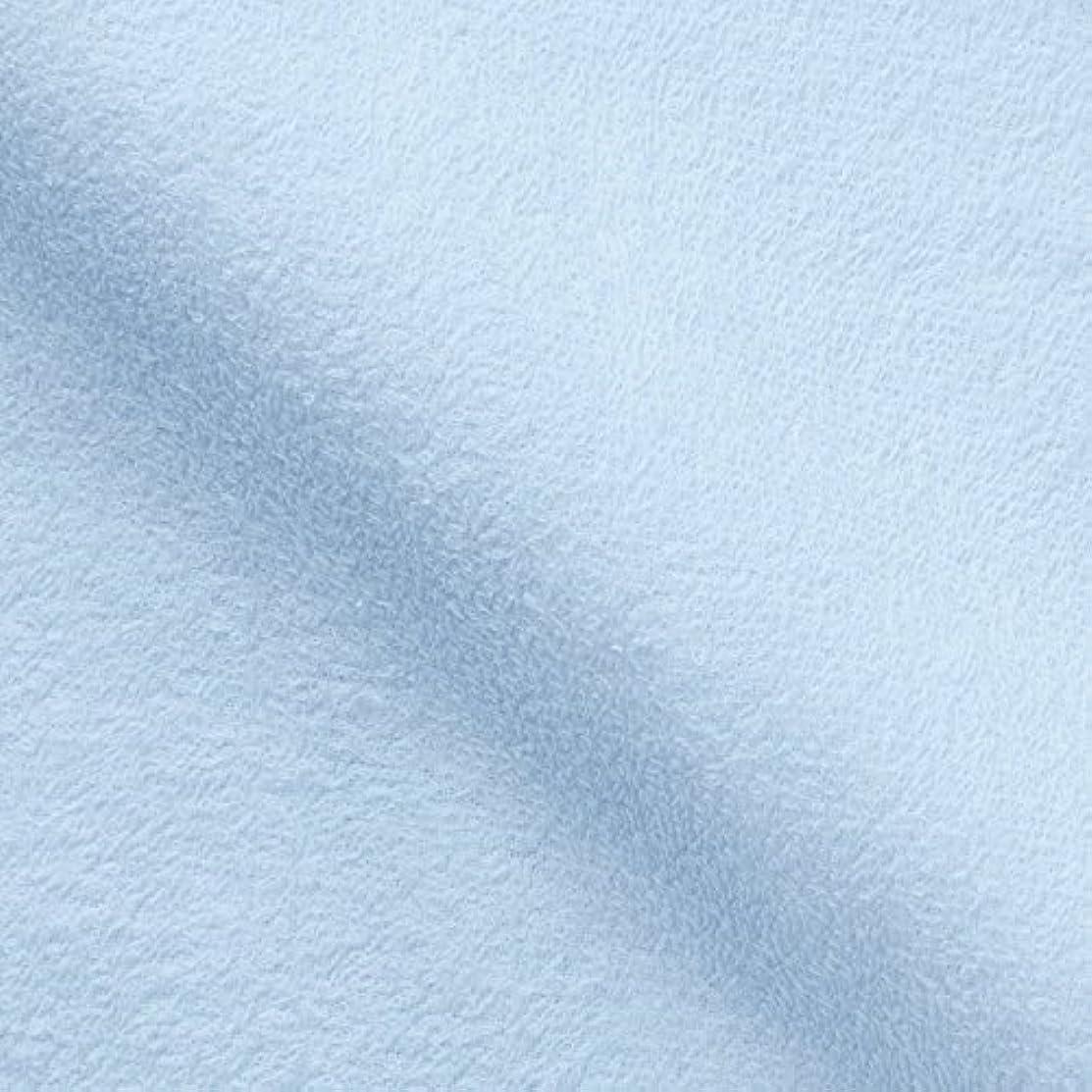 手つかずの研究きゅうりキヨタ 抗菌介護タオル(フェイスタオル12枚入) ブルー 34×84cm