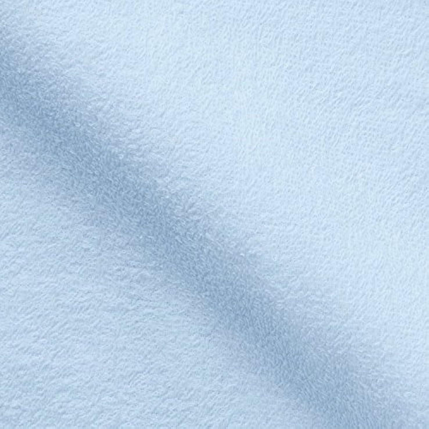 熱帯の司法懸念キヨタ 抗菌介護タオル(フェイスタオル12枚入) ブルー 34×84cm