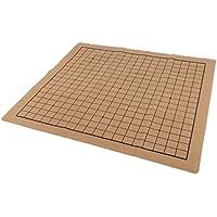 Baoblaze 折り畳み式 チェスゲーム スエードレザー チェスボード チェッカーボード 囲碁チェス盤