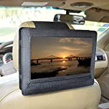 "Car Headrest Mount Holder for DBPOWER 10.5"" Portable DVD Player with Swivel and Flip Screen and Fits Other 10-10.5"" Swivel Sc"