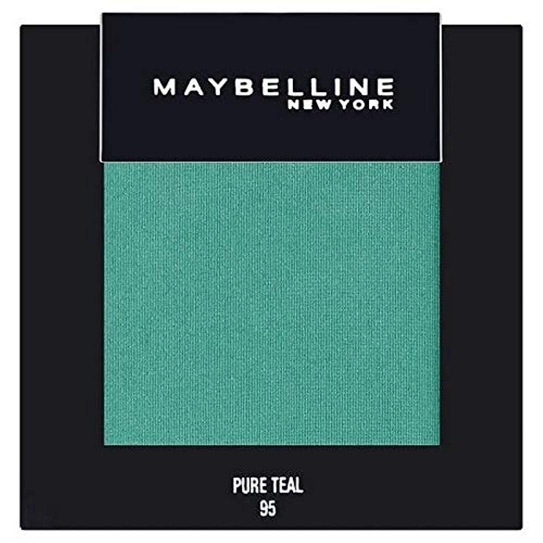 権限かまど食べる[Maybelline ] メイベリンカラーショー単一グリーンアイシャドウ95純粋ティール - Maybelline Color Show Single Green Eyeshadow 95 Pure Teal [並行輸入品]
