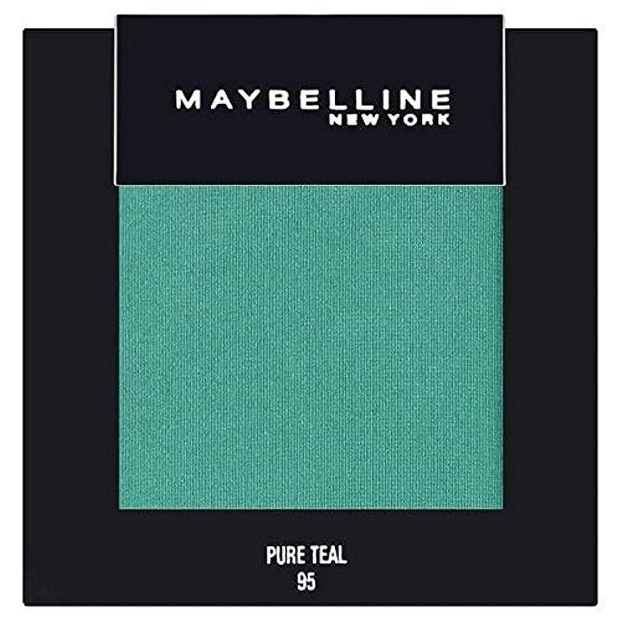 オート選出する独立して[Maybelline ] メイベリンカラーショー単一グリーンアイシャドウ95純粋ティール - Maybelline Color Show Single Green Eyeshadow 95 Pure Teal [並行輸入品]