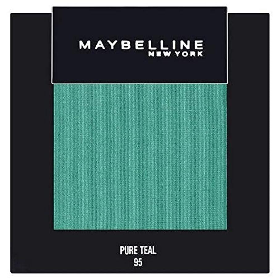 あざ透明にテレビ局[Maybelline ] メイベリンカラーショー単一グリーンアイシャドウ95純粋ティール - Maybelline Color Show Single Green Eyeshadow 95 Pure Teal [並行輸入品]