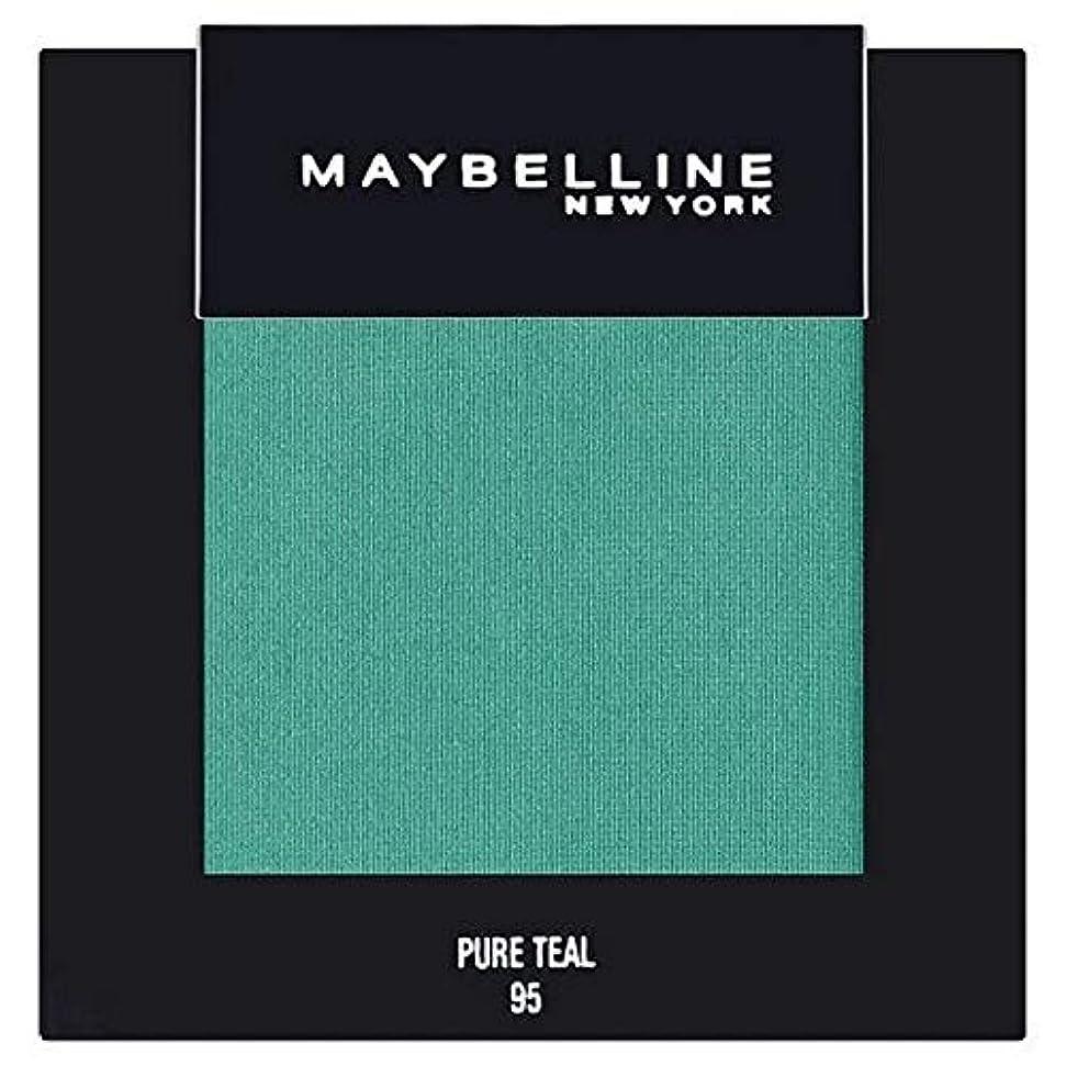 [Maybelline ] メイベリンカラーショー単一グリーンアイシャドウ95純粋ティール - Maybelline Color Show Single Green Eyeshadow 95 Pure Teal [並行輸入品]