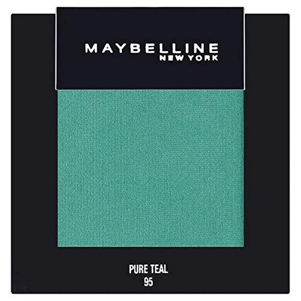 変装した未亡人罪悪感[Maybelline ] メイベリンカラーショー単一グリーンアイシャドウ95純粋ティール - Maybelline Color Show Single Green Eyeshadow 95 Pure Teal [並行輸入品]