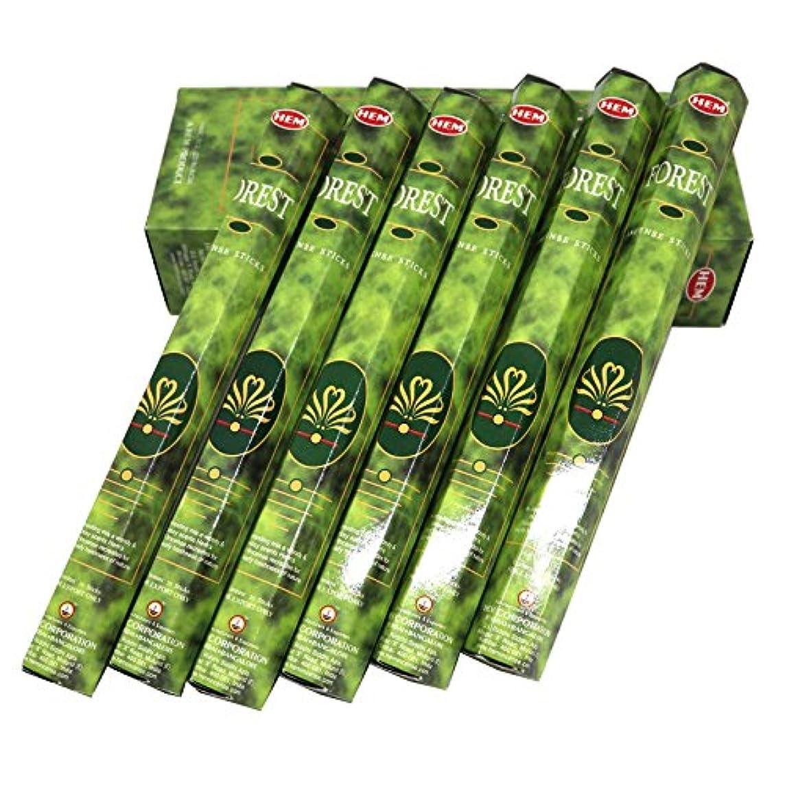 受動的つぶす誕生HEM社 インド製 ステックタイプ香 1箱20本入 (フォレスト)
