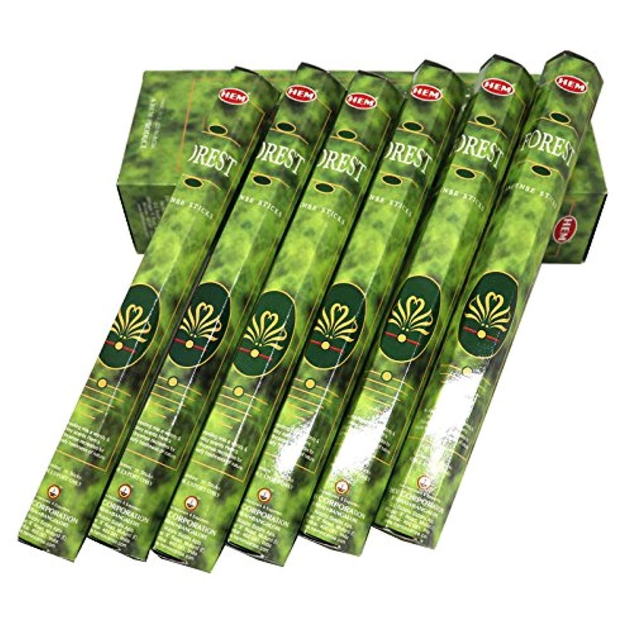 収容するコーヒー勃起HEM社 インド製 ステックタイプ香 1箱20本入 (フォレスト)