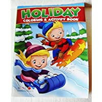 Holiday JUMBO Coloring & Activity Book (Santa Cover) by Bendon [並行輸入品]