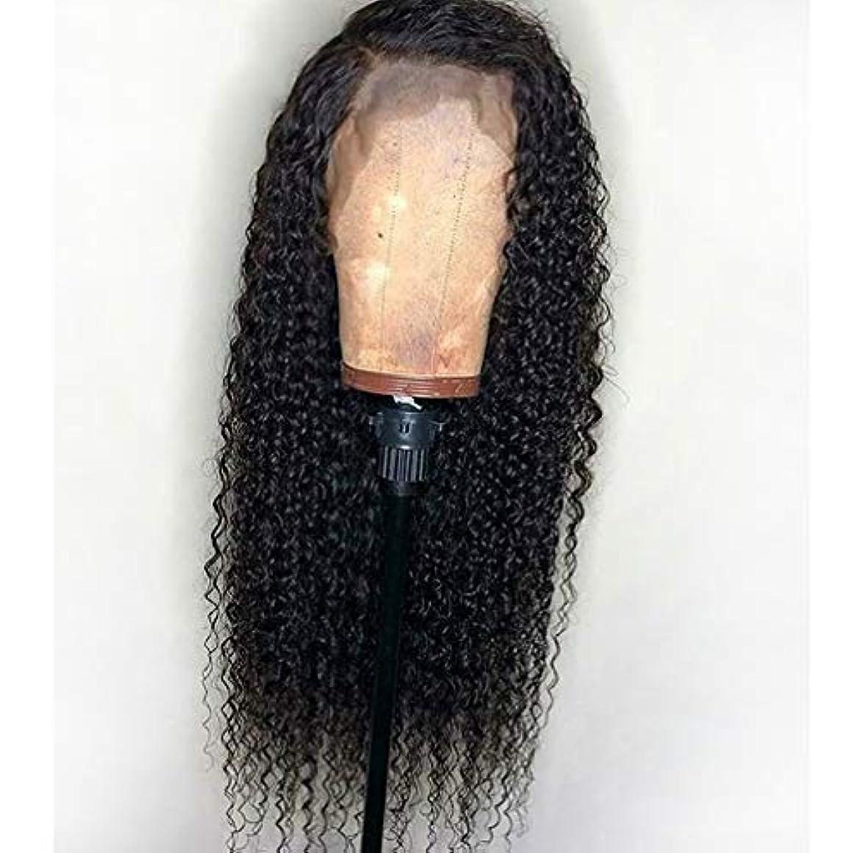 頭蓋骨うなる出撃者女性13 * 6レースフロントかつら人毛実体波150%密度バージン未処理バージンブラジル髪グルーレスかつら