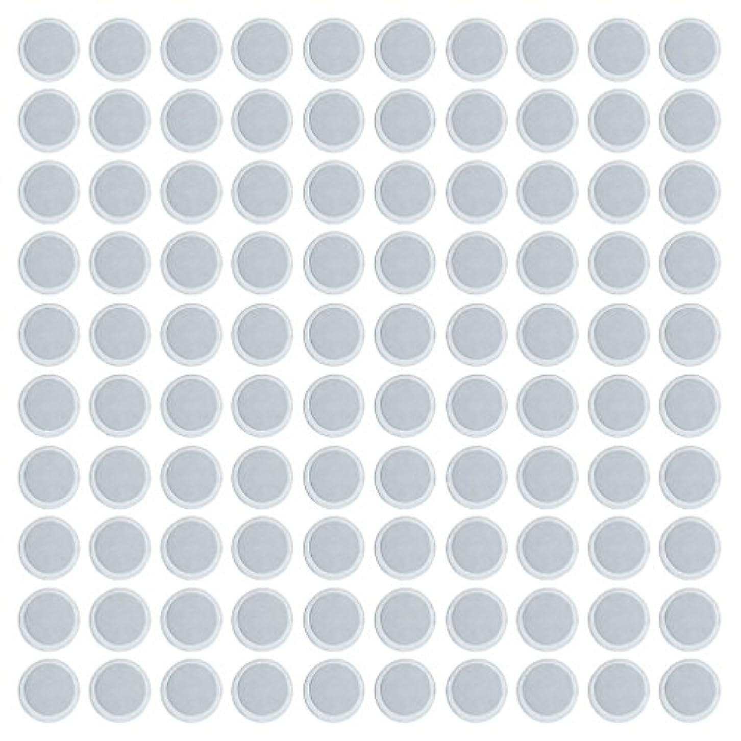 一月実施するいっぱい約100個 メイクアップパン 空パン アイシャドー ブラッシュ メイクアップ 磁気パレットボックスケース 2タイプ選べ - 円形