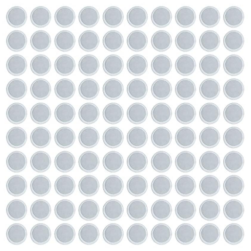キャリア満州大使館約100個 メイクアップパン 空パン アイシャドー ブラッシュ メイクアップ 磁気パレットボックスケース 2タイプ選べ - 円形