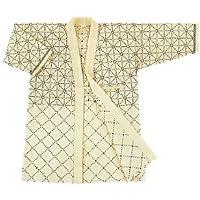 剣道着 白 六三四刺 綿100%