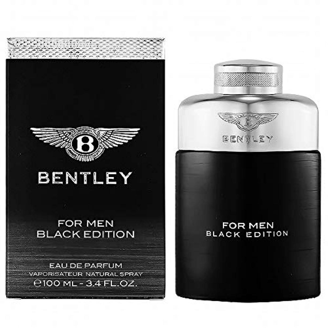 明らかに人形便宜ベントレー BENTLEY 香水 BEN-BENTLEYEDITION フォーメンブラックエディション オードパルファム 100ml【メンズ】 [並行輸入品]