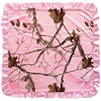 Realtree Pink Camo Baby Blanket by Carstens, Inc. [並行輸入品]