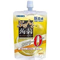 オリヒロ ぷるんと蒟蒻ゼリー カロリーゼロ グレープフルーツ 130g