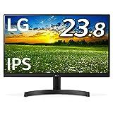 LG モニター ディスプレイ 24MK600M-B 23.8インチ/フルHD/IPS 非光沢/フレームレス/HDMI×2/ブルーライト低減機能/FreeSync・DASモード搭載