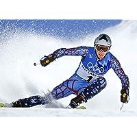 ボード・ミラーポスターフォト限定印刷チームUSA Winter Olympics Alpine SkiingセクシーCelebrity Athlete # 2 47 inch x 32 inch