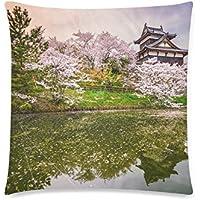 可愛い 子供 日本の奈良の春 座布団 45cm×45cm可愛い 子供 日本の奈良の春 座布団 45cm×45cm可愛い 子供 日本の奈良の春 座布団 45cm×45cm