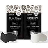 (3 Pack) ABSOLUTE Charcoal 2-Step Nose Strip (並行輸入品)