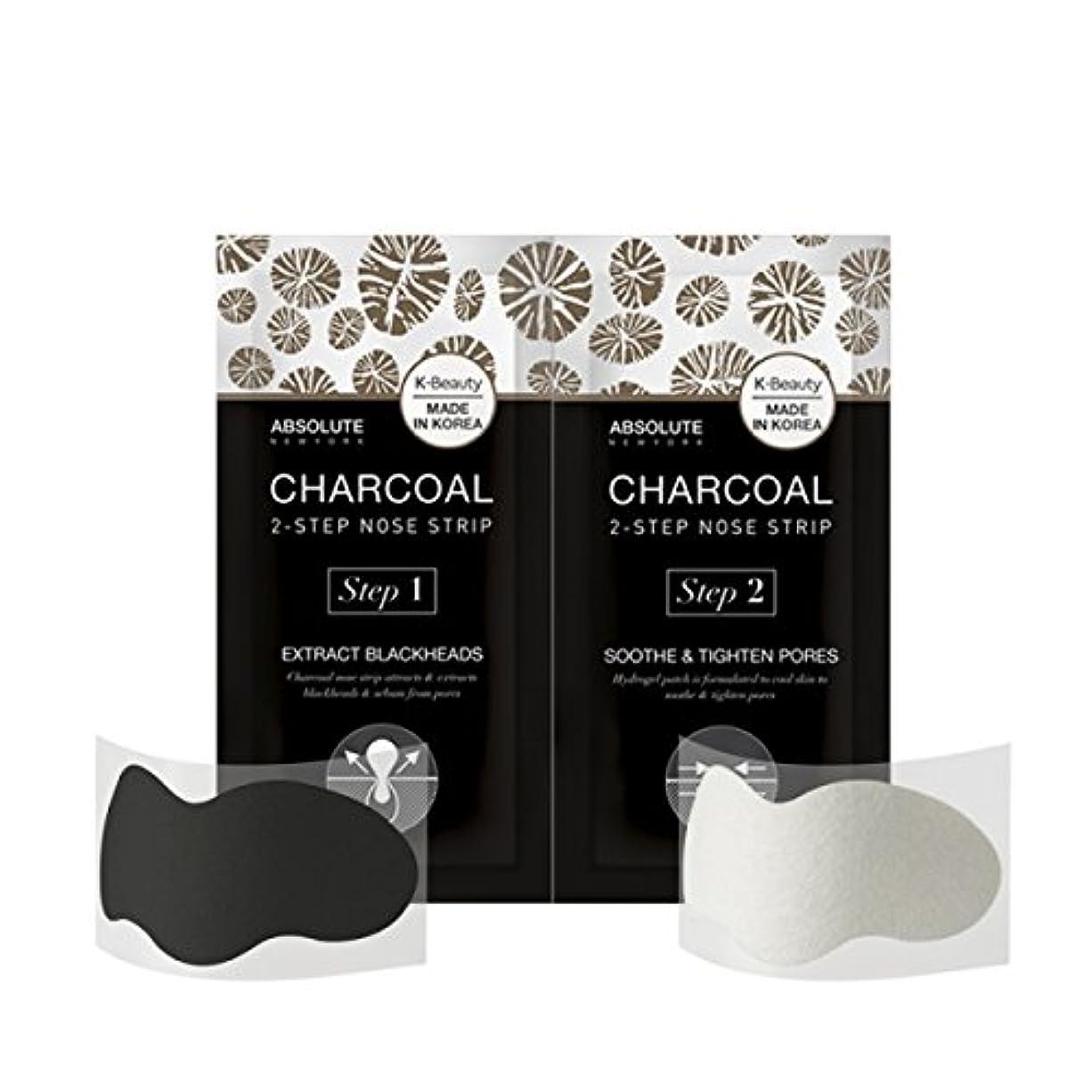 アート豊かにする機会(3 Pack) ABSOLUTE Charcoal 2-Step Nose Strip (並行輸入品)