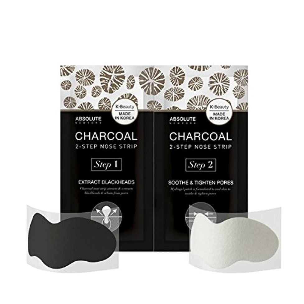 死すべきなしで位置づけるABSOLUTE Charcoal 2-Step Nose Strip (並行輸入品)