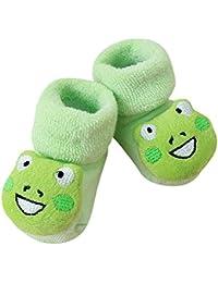 幼児ソックス Hosam ベビー ルームソックス 室内履き 履きぬいぐるみ 歩く練習 女の子 男の子 かわいい 靴下