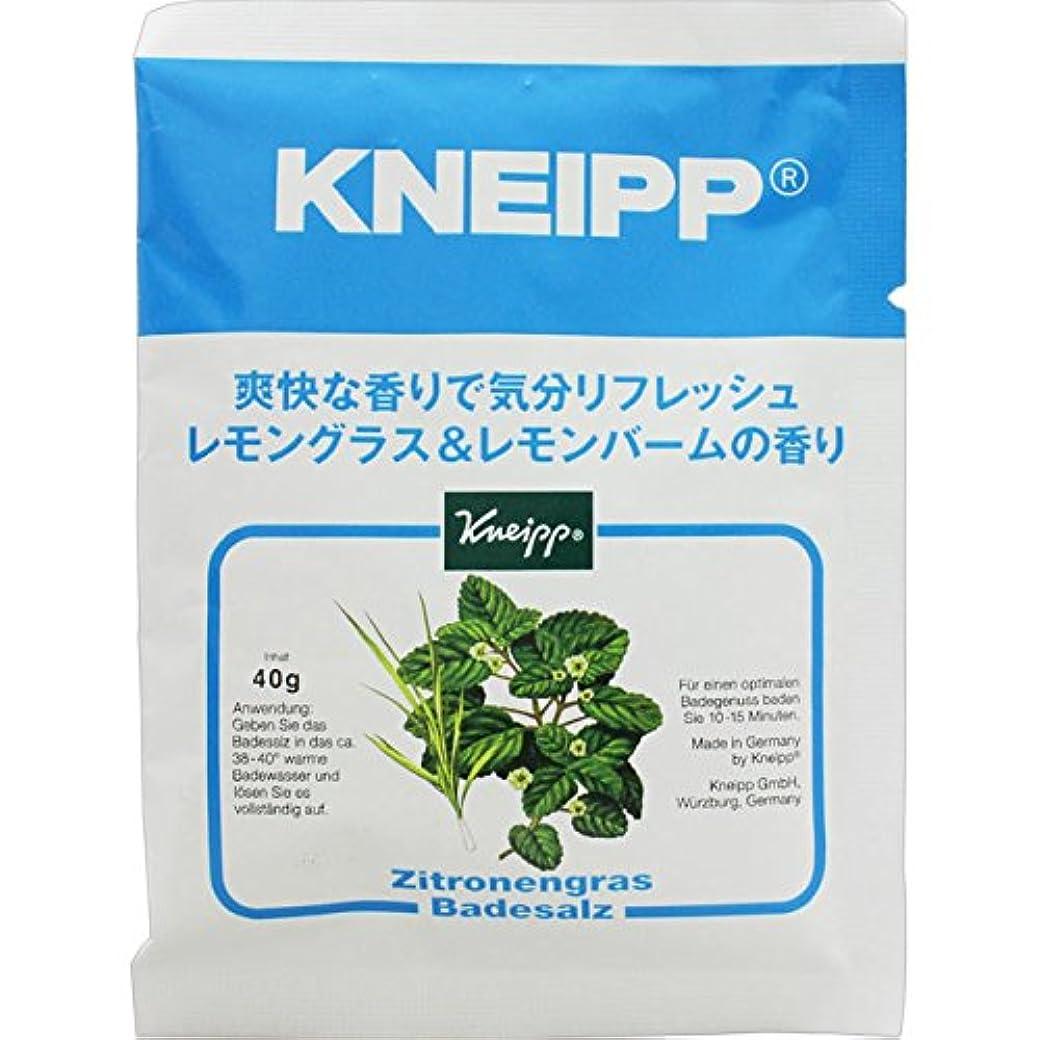贈り物ふくろう分類クナイプ?ジャパン クナイプバスソルト レモングラス&レモンバーム 40g