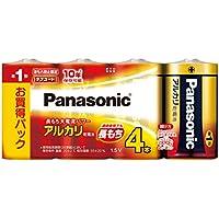 パナソニック 単1形アルカリ乾電池 4本パック LR20XJ/4SW