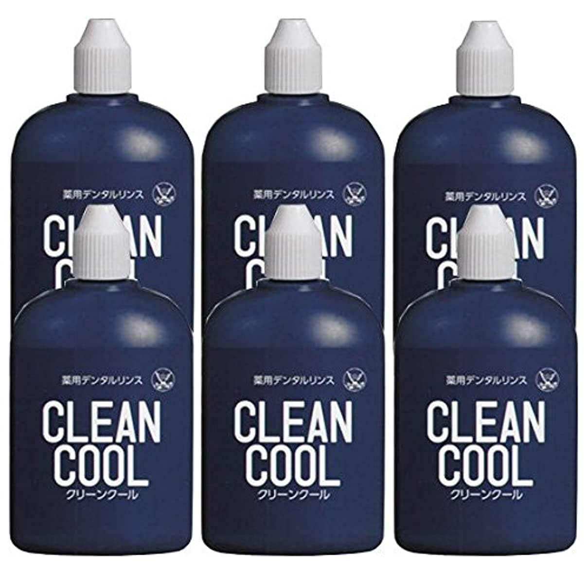 戦術石油すり減る薬用デンタルリンス クリーンクール (CLEAN COOL) 洗口液 100ml × 6個