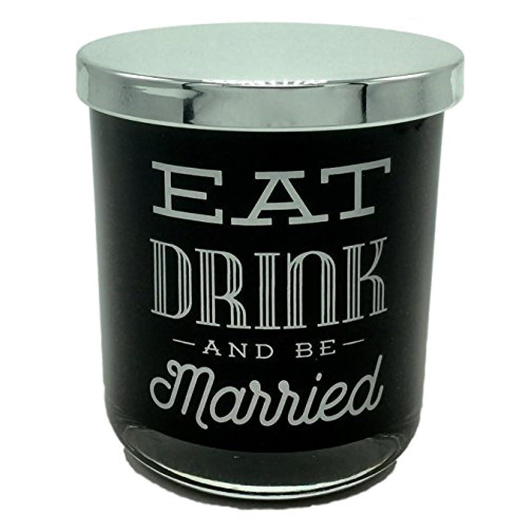 サイトライン環境に優しい招待DWホームEat Drink and Be Married WarmタバコScented Candle