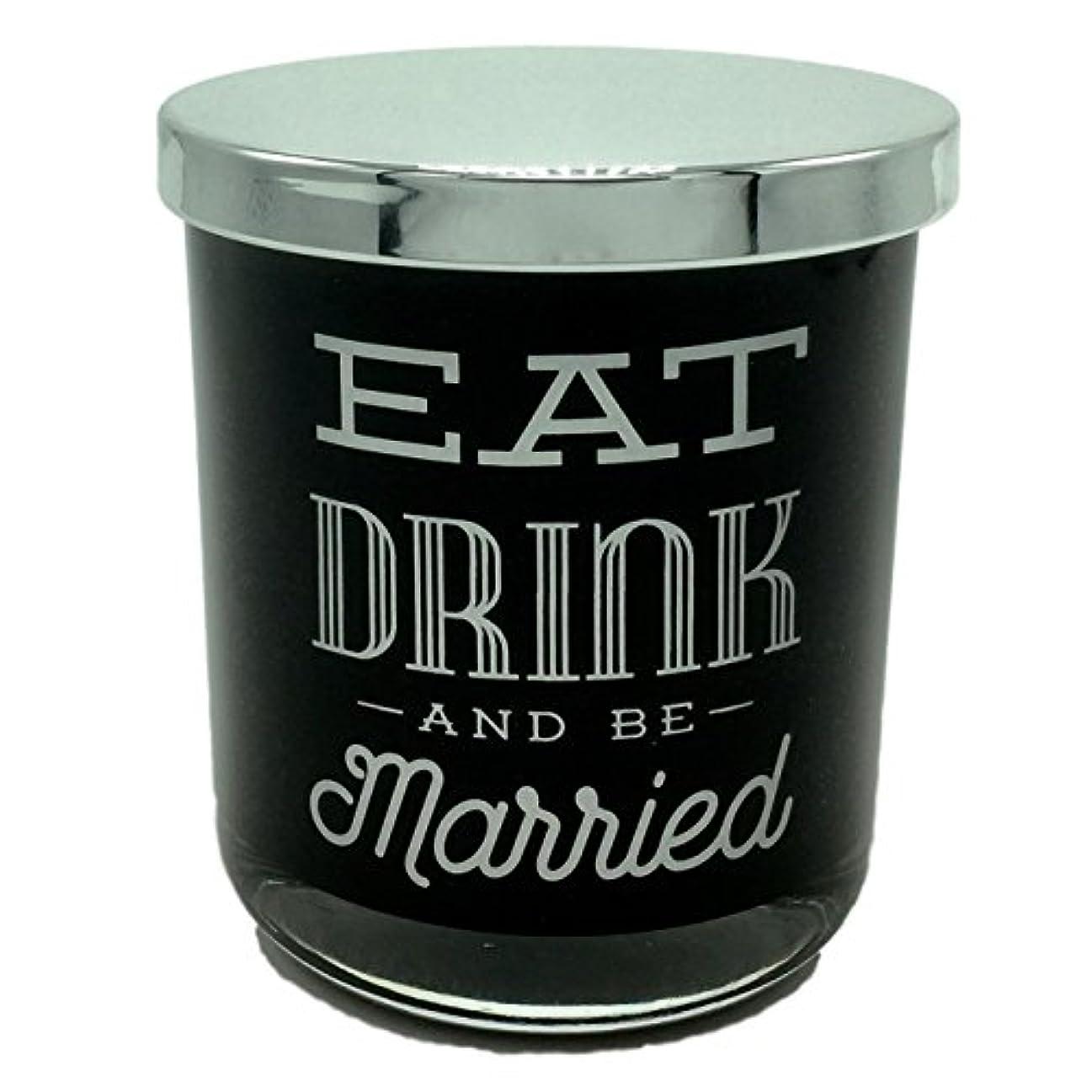 流す受粉者狂うDWホームEat Drink and Be Married WarmタバコScented Candle