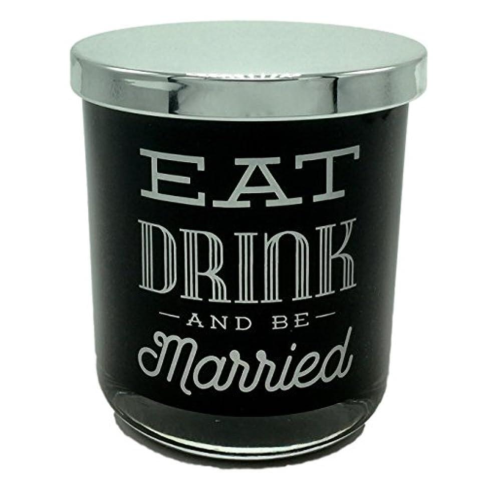 昇る冷酷なDWホームEat Drink and Be Married WarmタバコScented Candle