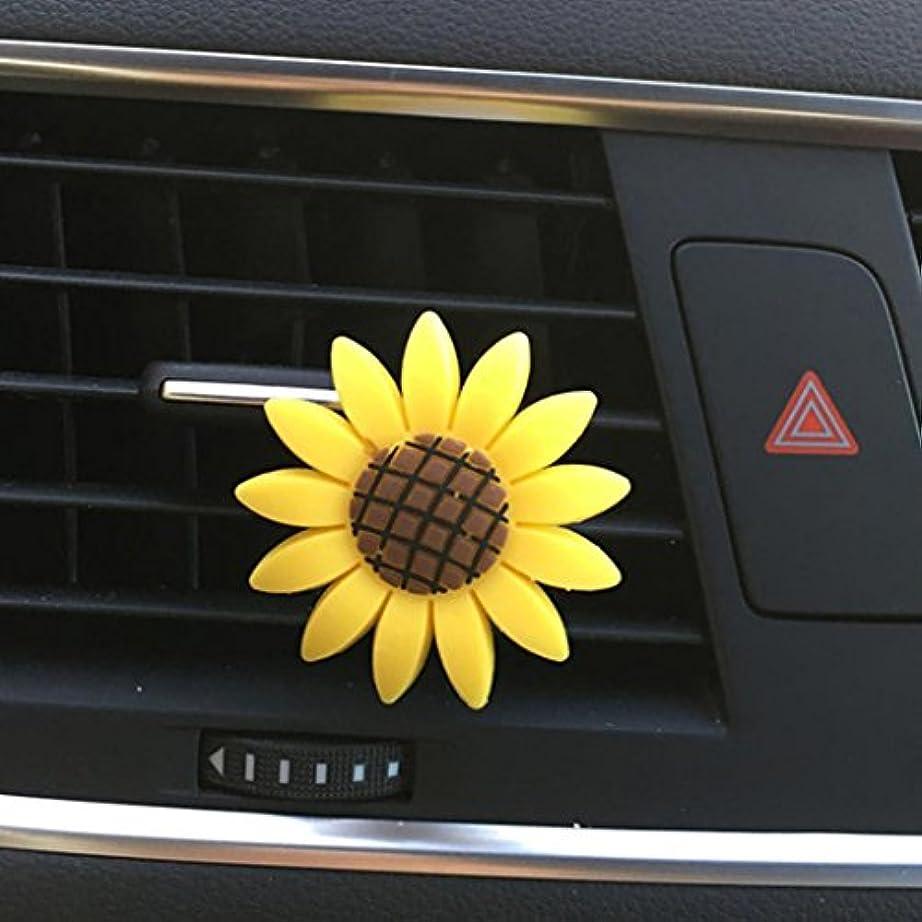 フレア収束ごみecosin車Incense MultifloraひまわりAirコンセントFragrant Perfumeクリップ消臭ディフューザー item size: (L * D) 1.6 * 1.1 cm / 0.63 * 0.43...