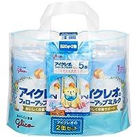 アイクレオのフォローアップミルク 820g×2缶セット(サンプル付き)
