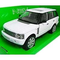 ノーブランド品 LAND ROVER Range Rover White 1/24 WELLY [並行輸入品]