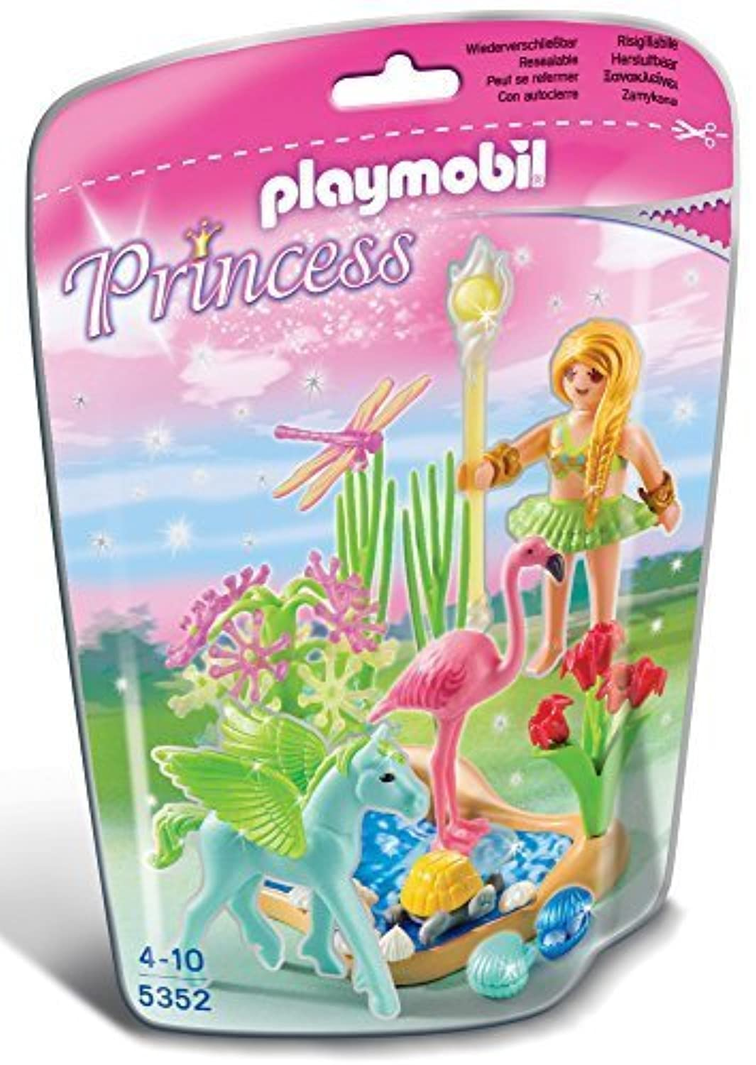 Playmobil 5352 Summer Fairy Princess by PLAYMOBIL BENELUX [並行輸入品]