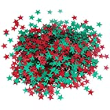 asiproper 紙吹雪 クリスマス 結婚式 パーティー 装飾 部屋飾り デコレーション DIY アクセサリー 雰囲気 背景道具 2000個入り