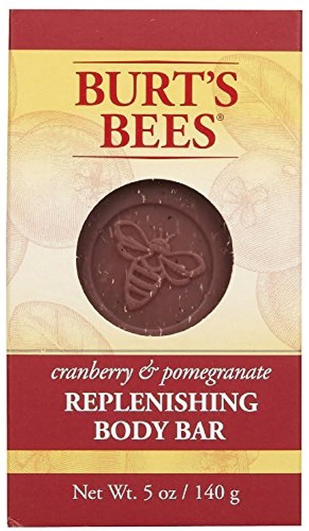 列挙する錆び手がかりバーツビーズ Burt's Bees BURT'S BEES クランベリー&ポメグラネイト ボディバー 140g