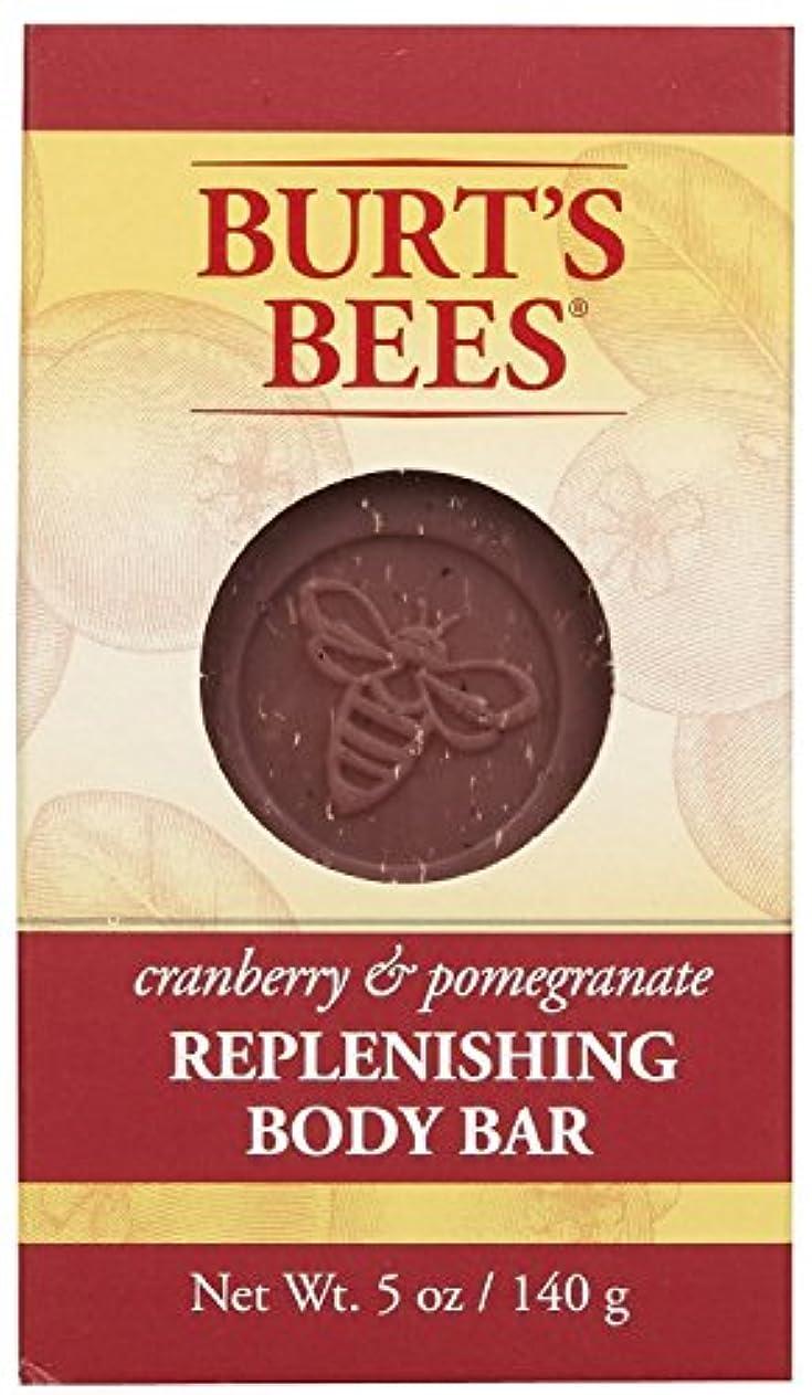 慢世紀溶融バーツビーズ Burt's Bees BURT'S BEES クランベリー&ポメグラネイト ボディバー 140g