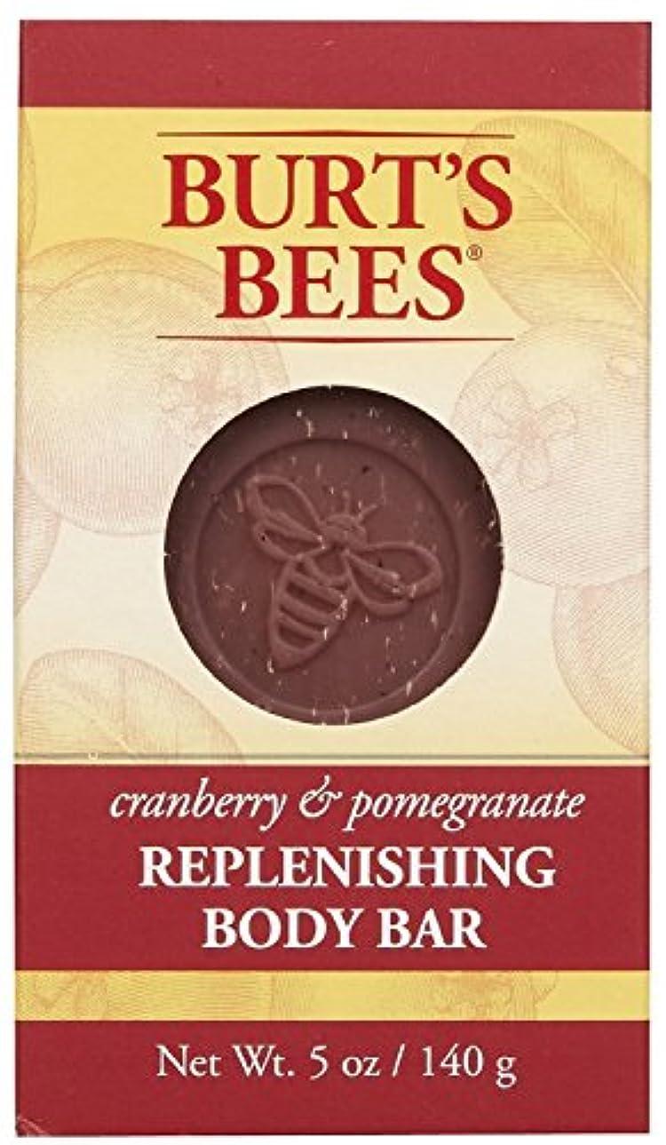 従順な肌寒いいろいろバーツビーズ Burt's Bees BURT'S BEES クランベリー&ポメグラネイト ボディバー 140g