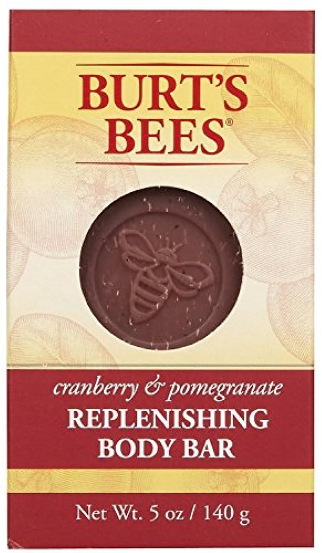 セイはさておき逃す雷雨バーツビーズ Burt's Bees BURT'S BEES クランベリー&ポメグラネイト ボディバー 140g