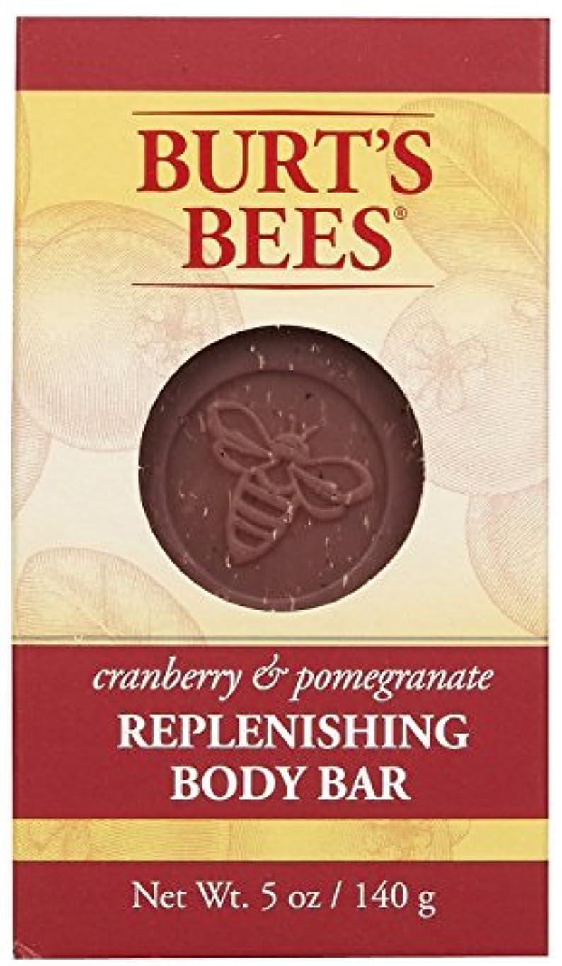 ドキュメンタリー追い付くスコットランド人バーツビーズ Burt's Bees BURT'S BEES クランベリー&ポメグラネイト ボディバー 140g