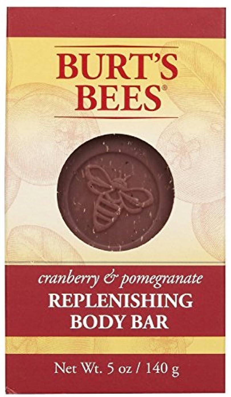 台風折り目休憩するバーツビーズ Burt's Bees BURT'S BEES クランベリー&ポメグラネイト ボディバー 140g