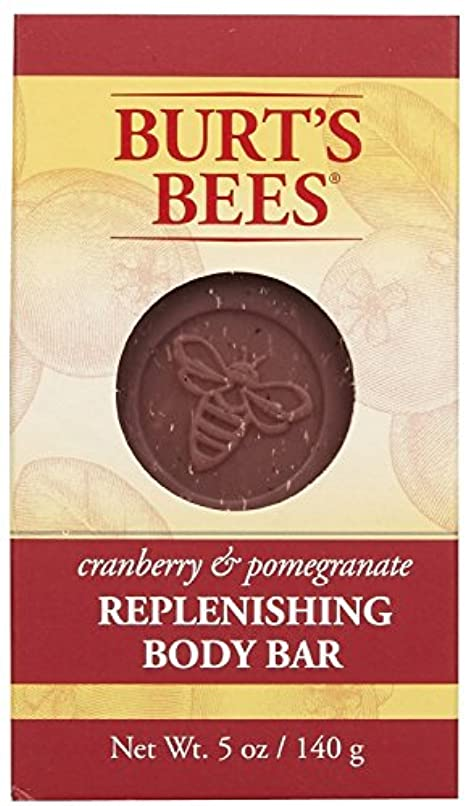 効果主婦減るバーツビーズ Burt's Bees BURT'S BEES クランベリー&ポメグラネイト ボディバー 140g